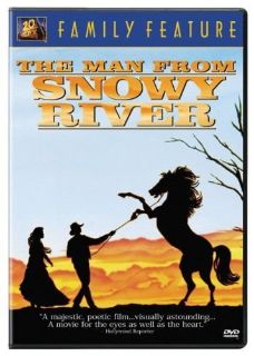 The Man From Snowy River (DVD, 2006, Sensormatic)