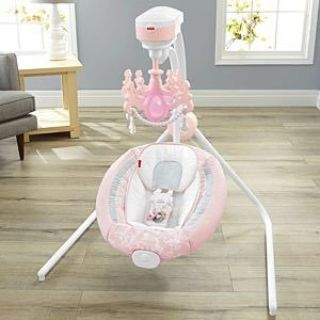 Fisher price pearl chandelier swing