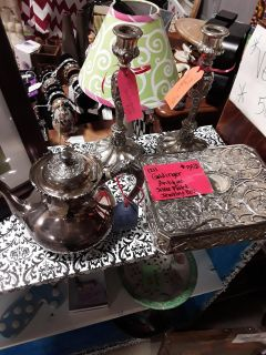 Silver plated items Godinger, Reeds & Barton etc. 50% off sale price