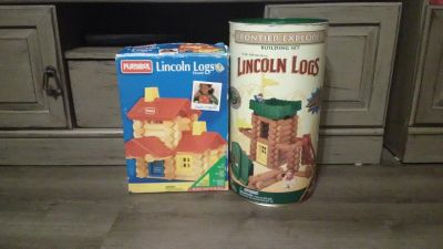 Lots of Lincoln Logs! 2 sets!