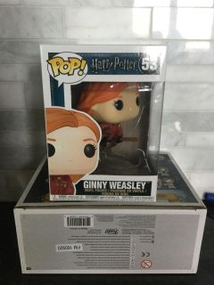 Ginny Weasley riding broom Harry Potter funko pop
