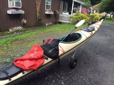 Wilderness solution touring kayak