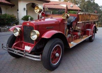 1927 International Firetruck for sale in Porterville, CA.