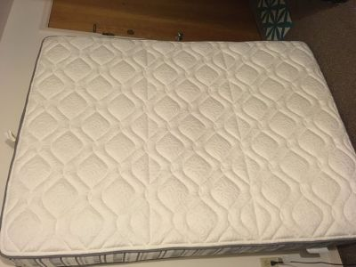 Queen (firm) mattress and boxspring