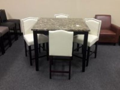 New 5pc Pub Table Dining Set
