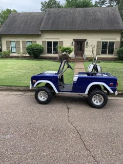 Unique early ford bronco golf cart