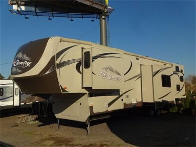 2013 Heartland Big Country 36' Quad Slide Rear Kitchen 5th Wheel