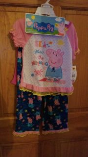 NEW! 3 piece Peppa the Pig pj set