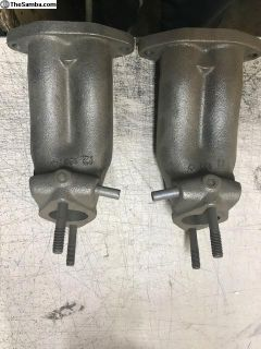 RJE T-1 solex manifold to use T-3 carbs