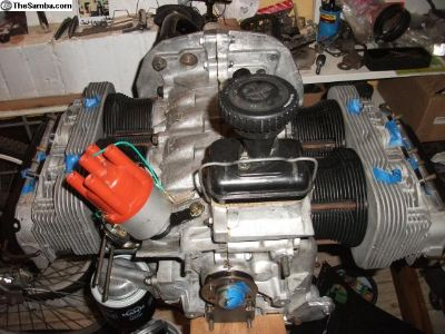 VW Type 4 Engine 2.0 Liter ReBuilt Long Block 7mm