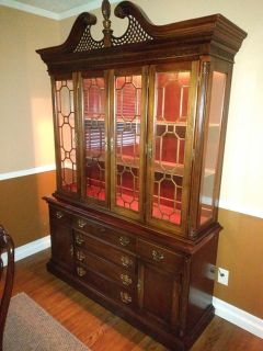 $449, AMAZING OFFER Wooden set of dining room and china cabinet