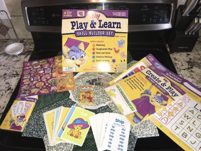 Play and learn skill builder set. Bright star learn and play. Brand new sells for over $30!