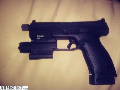 For Sale/Trade: Suppresser ready Cz P10c with extras