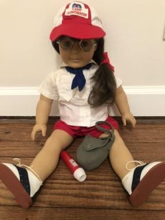 Vintage American Girl Doll Molly Camping Outfit