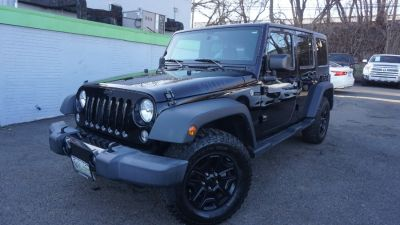 2016 Jeep Wrangler Unlimited 4WD 4dr Sport WILLY (Black Clearcoat)