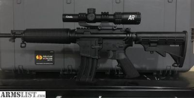 For Sale: *NEW* BUSHMASTER QRC AR-15 WITH CABELAS 1X4 AND 1X6 RIFLE SCOPE