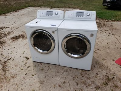 Like New LG Front Loading Washer And Dryer!