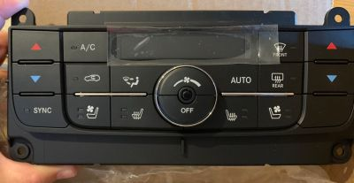 AC & Heater Control Unit for 2011 Jeep Grand Cherokee - Brand New