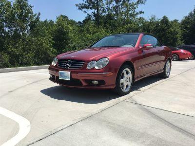 2004 Mercedes-Benz CLK-Class CLK500 (Red)