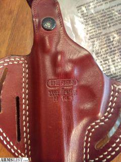 For Sale: Bersa Thunder Vega OWB leather holster (R)