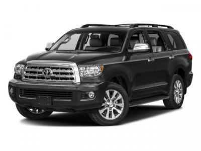 2017 Toyota Sequoia Limited (Silver Sky Metallic)