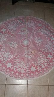 Tree skirt 46in. has a small stain, pick up in Brazoria