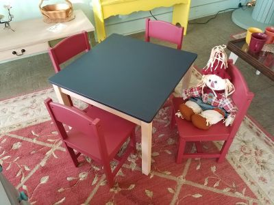 Adorable childrens table and chairs