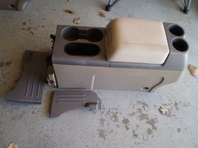 RARE Ford F150 F-150 Tan Center Console 2004 2005 2006 2007 2008 04 08 CONSOLE WILL SHIP
