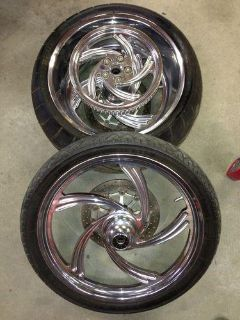 Buy Arlen Ness Wheels. 300 Rear 21 Front motorcycle in Sanger, Texas, US, for US $1,200.00