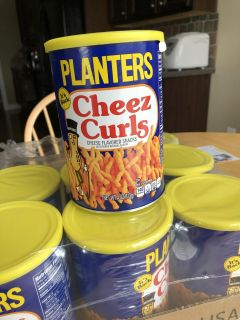 Planters Cheese Curls 2018