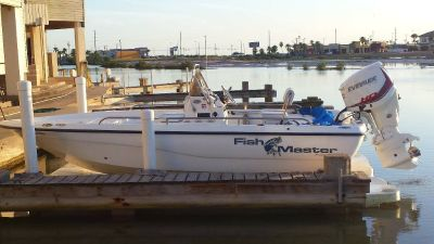 21 ft Fishmaster 2002, W/ 2016 135 hp Evinrude