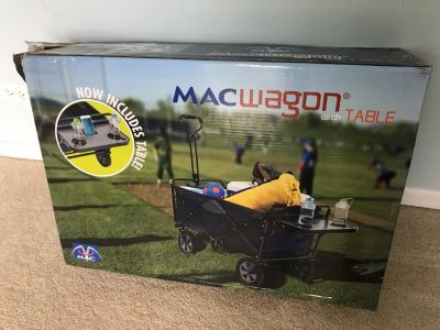 MAC Wagon with Table (BRAND NEW STILL IN BOX AND NEVER OPENED)