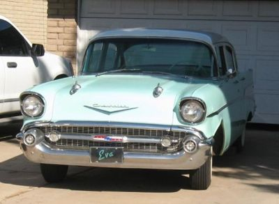 $18,500, 1957 Chevy 210 with a post all original