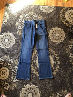 Boys size 16 slim bootcut jeans - new with tags