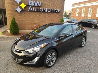 2015 Hyundai Elantra Limited (Black)