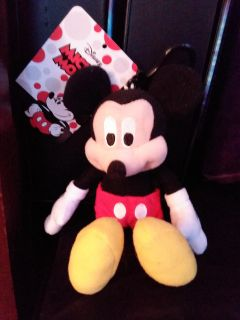 NEW Mickey Mouse coin purse with clip