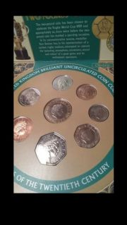 Beautiful and uncirculated United Kingdom coins / monedas / clad / silver / Plata / silver / gold / Oro / bronze / antique / relics / vintag