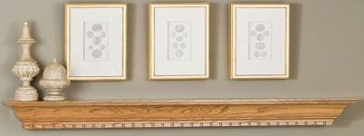 OAK Wood Mantel