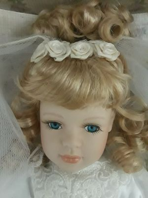 Collectors Choice Genuine Fine Bisque Porcelain Doll