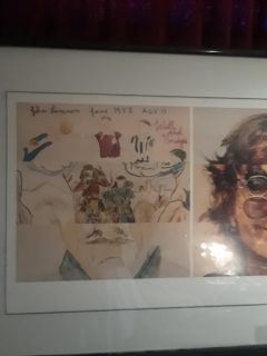 John Lennon painting comes with certificate of authenticity