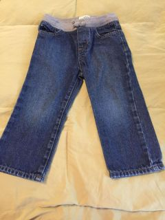 Like new Children s place 2t elastic waistband jean shorts