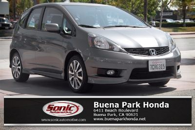 2013 Honda Fit Sport (Polished Metal Metallic)