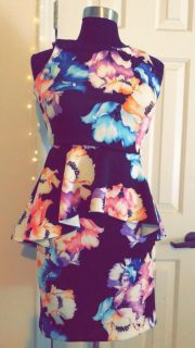 New floral dress with tags