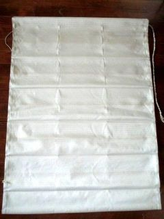 ROMAN SHADES 2 at 34 in. wide and 1 at 28 in. wide