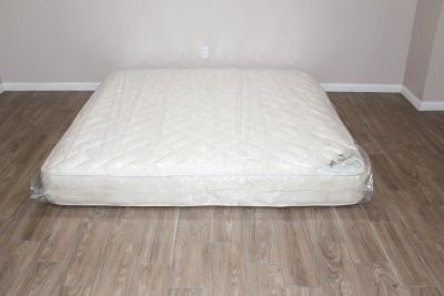 King Size Spring Air Precision Back Care Supporter Firm model mattress