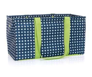 Thirty One Large Utility Tote in goin gingham