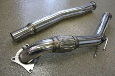 "Sell Beluga Racing Volkswagen VW 06-10 GTI 2.0T CCTA MKV 3"" Turbo Exhaust Downpipe motorcycle in Garland, Texas, United States, for US $164.99"