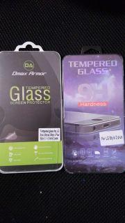 2 Lg Stylo Glass Screen Protectors