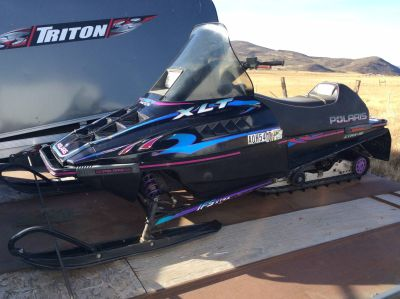 1997 Polaris XLT RMK Snowmobile Kamas, UT
