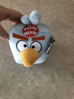 Angry Birds Space Ice Bid NWT and makes sound